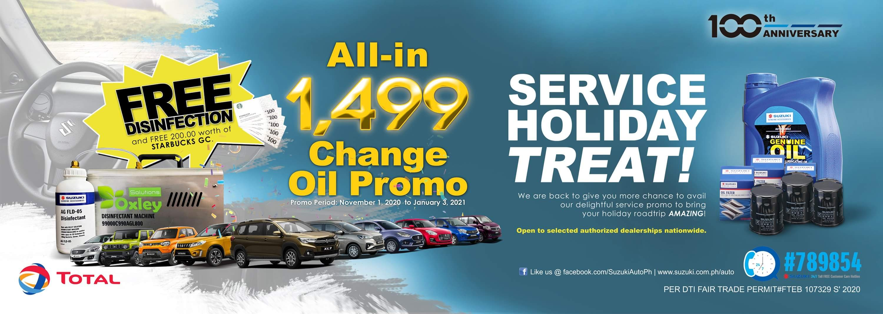 ALL-IN 1,499 Change Oil Promo