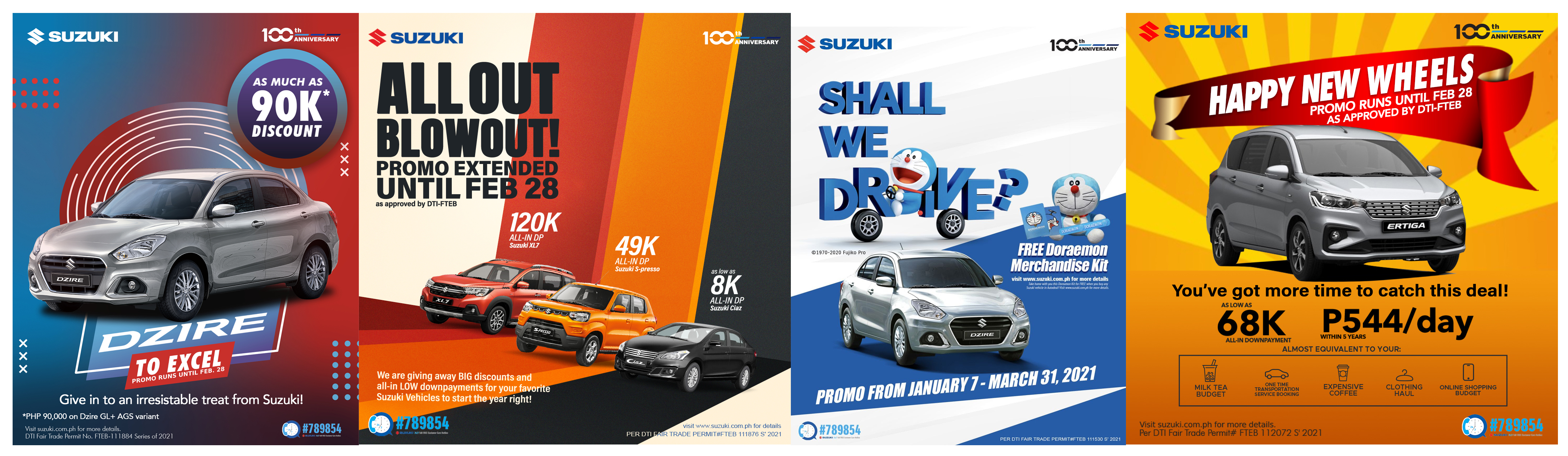 Suzuki Philippines goes All-Out with promos to fuel your Dzire to excel and drive!