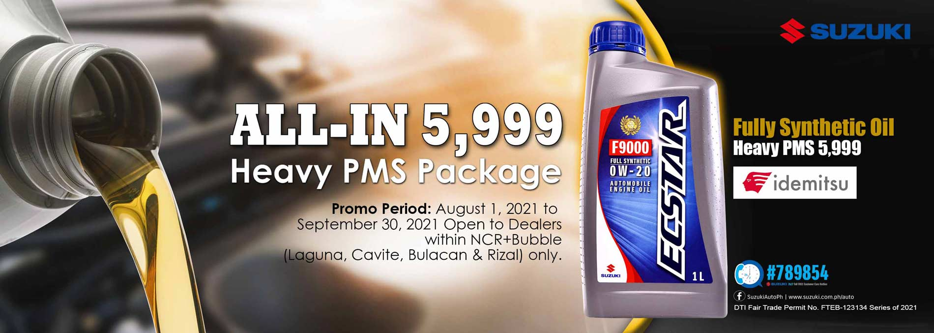 All-IN 5,999 HEAVY PMS PACKAGE PROMO