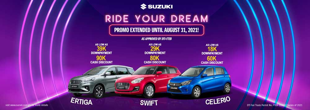 Ride Your Dream with Suzuki this August!