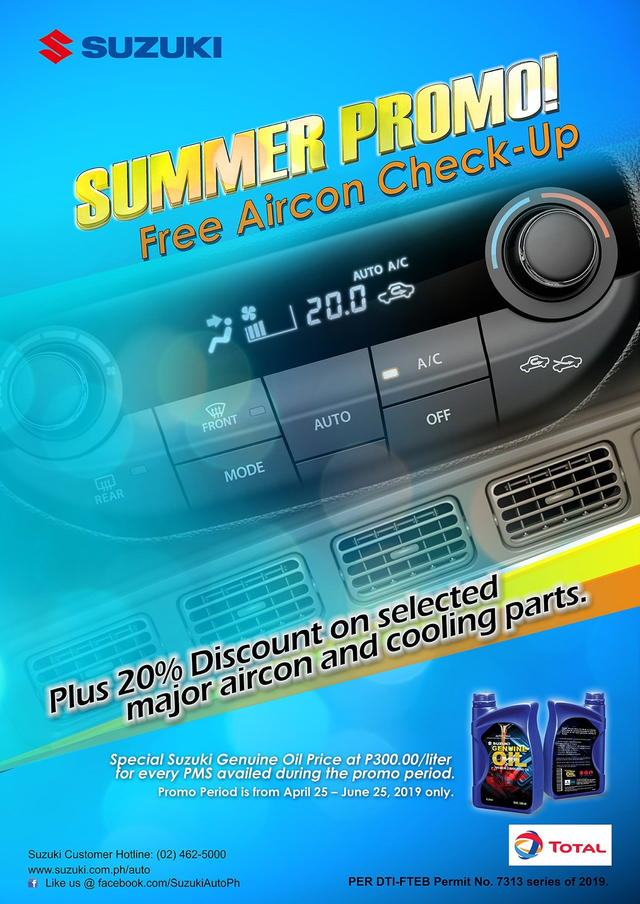 FREE AIRCON CHECK-UP SUMMER PROMO