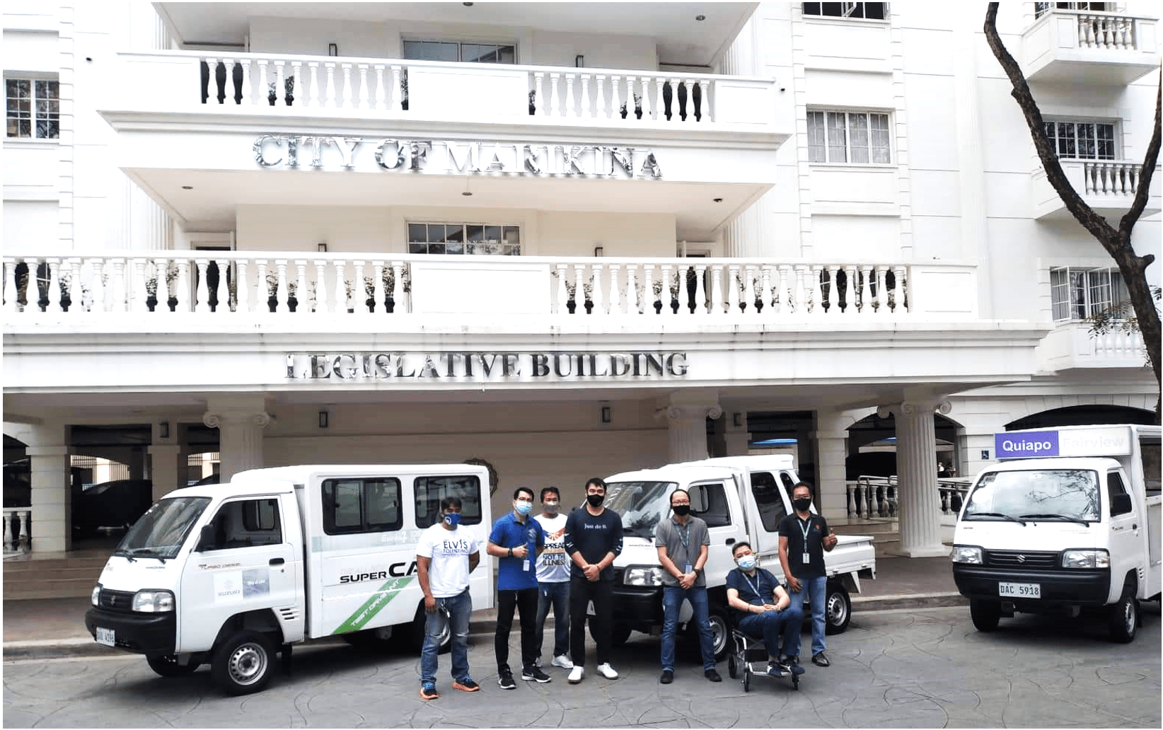 Suzuki shares the gift of mobility as it deploys Super Carry units to the City of Marikina