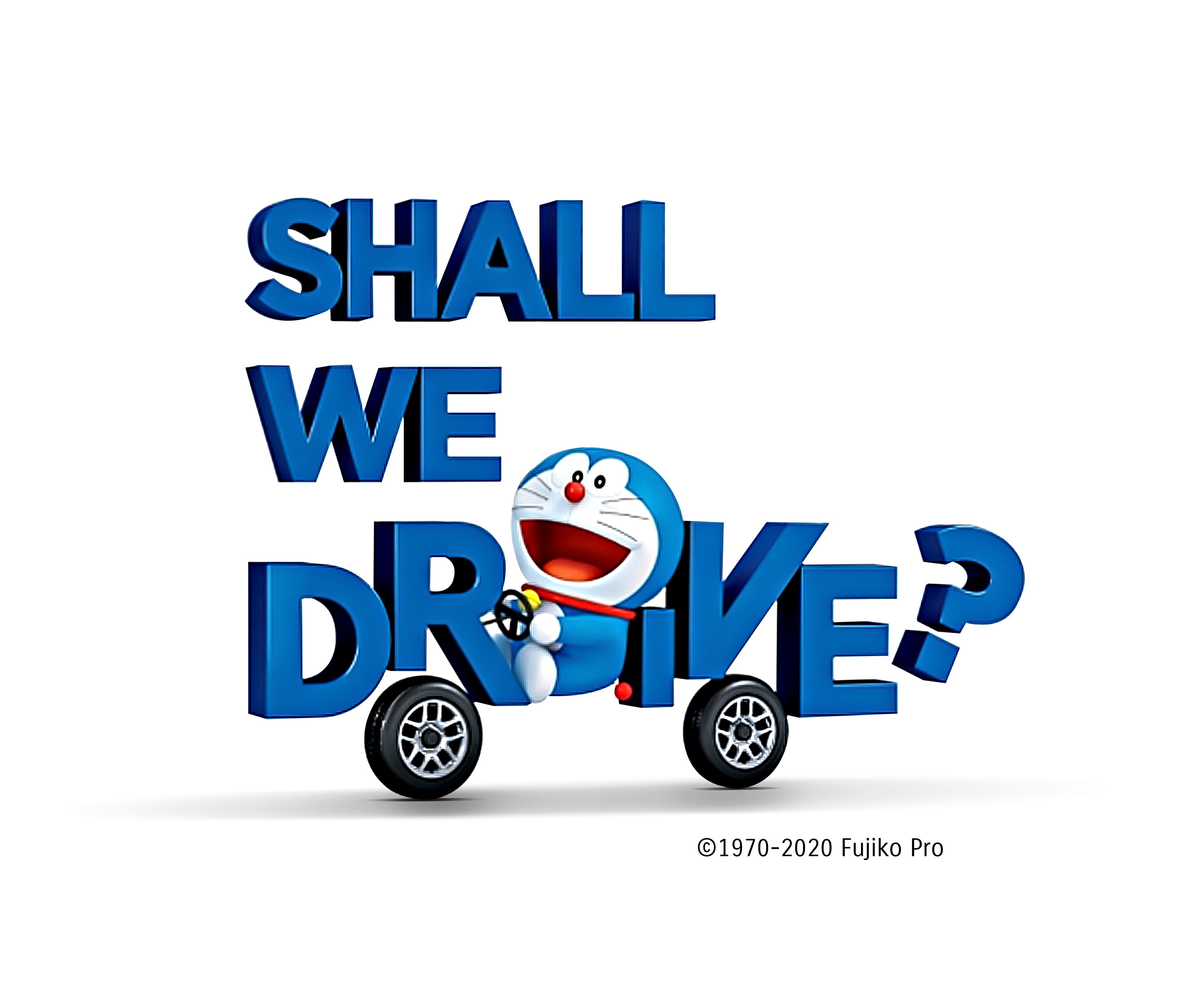 Shall We Drive? Let Suzuki and Doraemon Be With You.