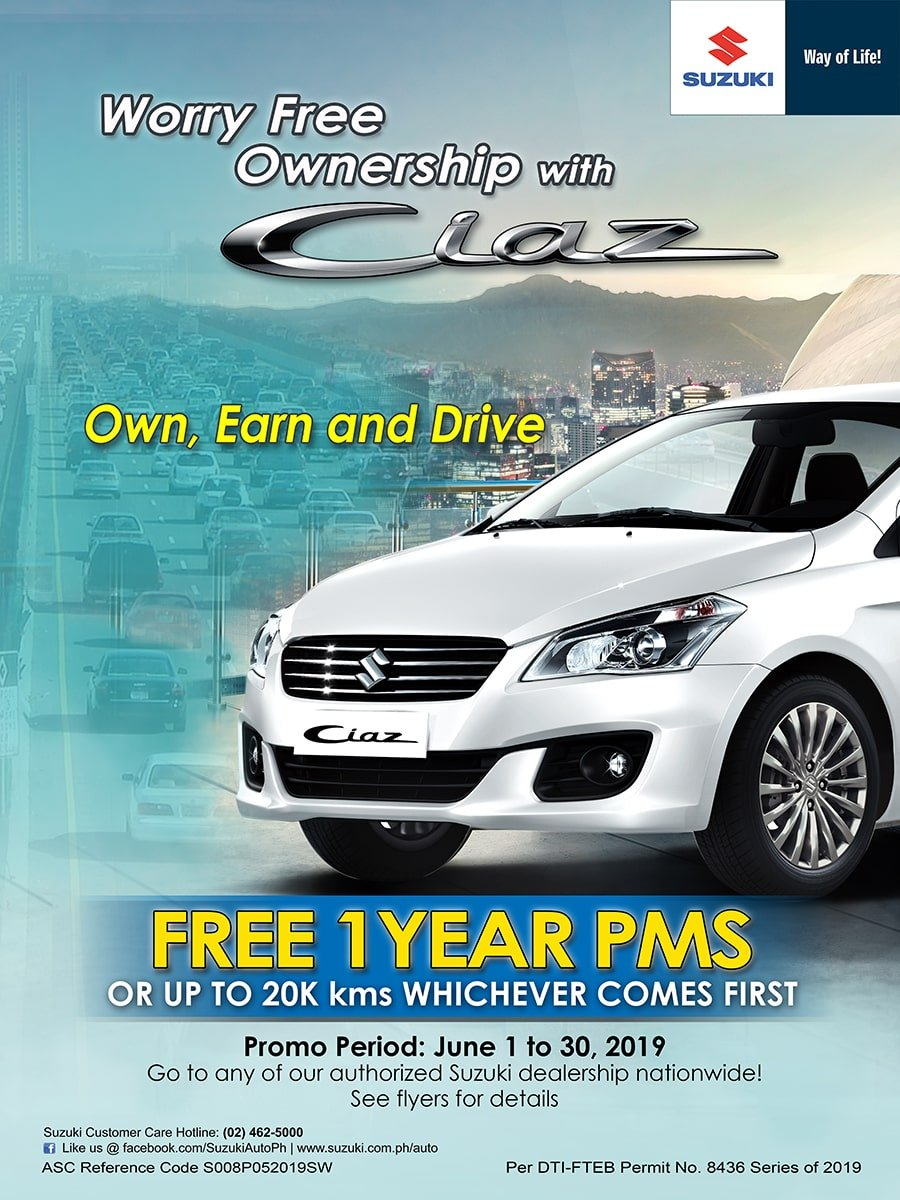 Worry Free Ownership with Ciaz