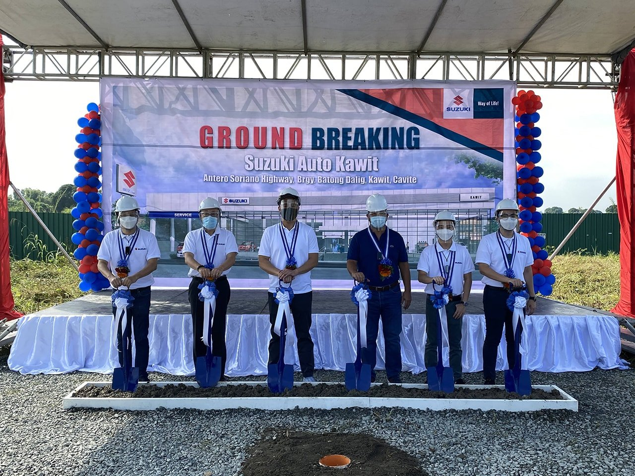 Suzuki Philippines Expands to the South of Luzon with New Dealership Rising in Kawit, Cavite