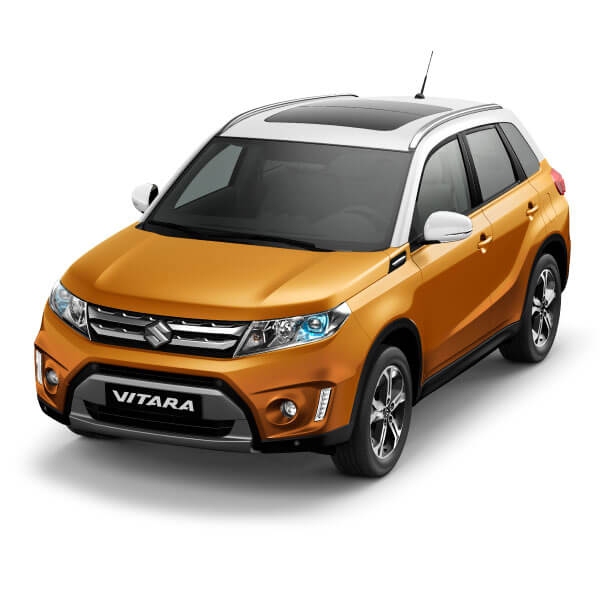 Suzuki Vitara Horizon Orange Metallic / Superior White (A6J)