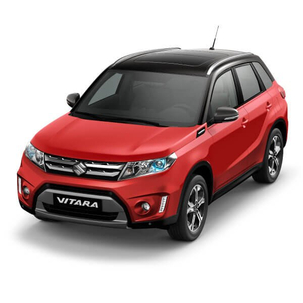 Suzuki Vitara Bright Red 5 / Cosmic Black Pearl Metallic (A9H)