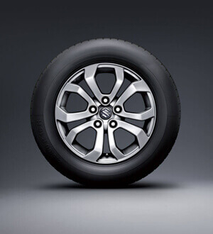 Suzuki Vitara 16inch alloy wheels (standard with GL+)