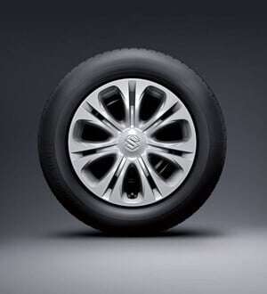 Suzuki Vitara 16inch steel wheel with full wheel Caps (standard with GL)