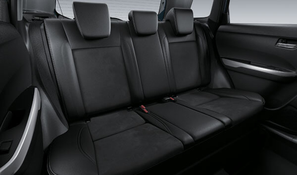 Suzuki Vitara Rear Seats