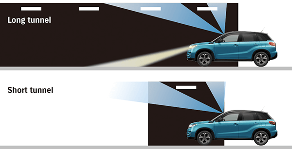 Suzuki Vitara Automatic wipers and lights (GLX)