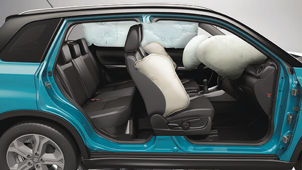 Suzuki Vitara 6 Point Airbag System (GLX)