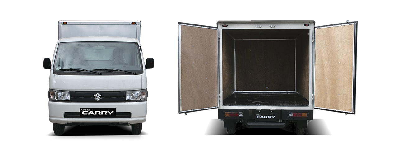 Suzuki All-New Carry Cargo Van Exterior