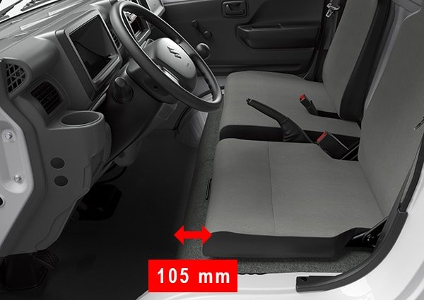 Suzuki All-New Carry Cargo Van Sliding Driver's Seat
