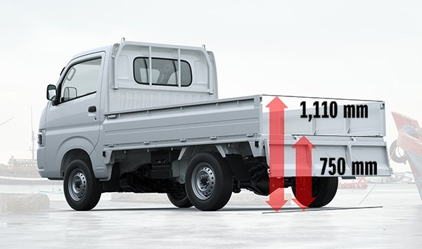 Suzuki All-New Carry Low Bed Height