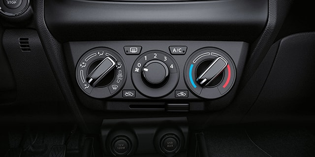 Suzuki Dzire Air-Conditioning System
