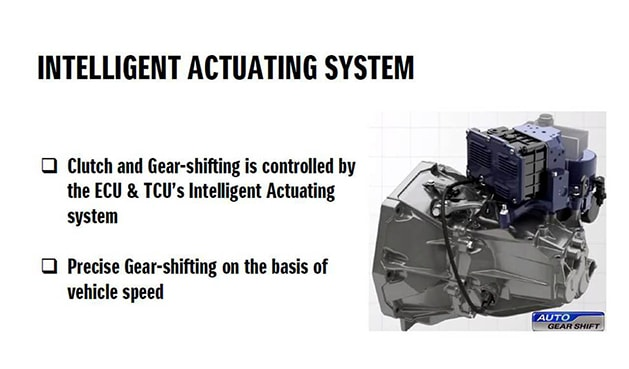 Suzuki Dzire Intelligent Actuating System