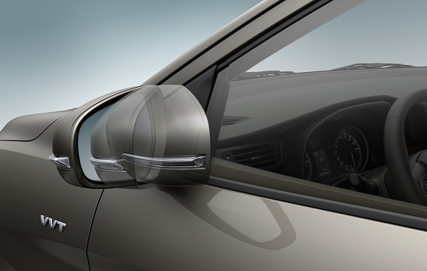 Suzuki Ertiga Exterior Electrically foldable door mirrors (GLX)