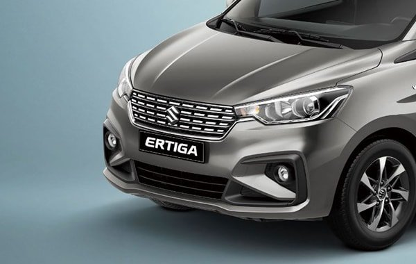 Suzuki Ertiga Exterior Taller and stronger nose design
