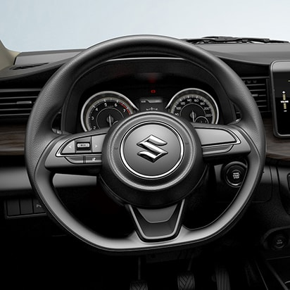 Suzuki Ertiga D-shaped steering wheel