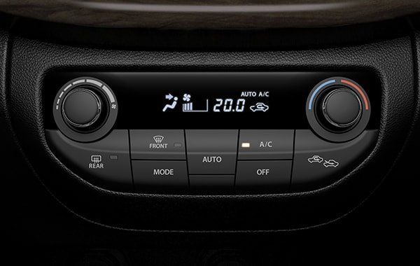 Suzuki Ertiga Front air conditioner control