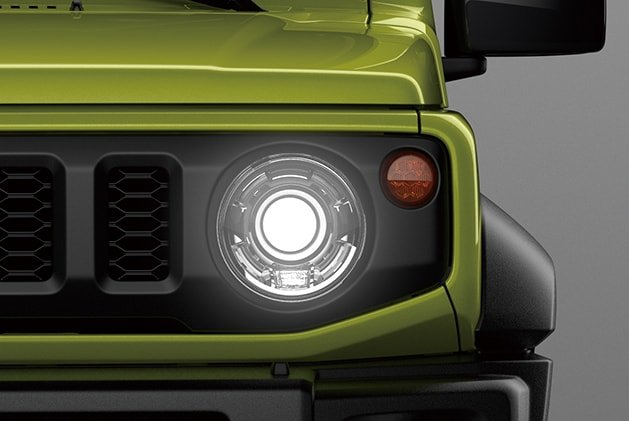 Suzuki Jimny LED Headlamps with washers (GLX)