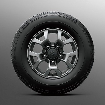 Suzuki Jimny 15-inch alloy wheels