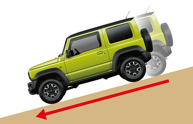 Suzuki Jimny Hill Descent Control