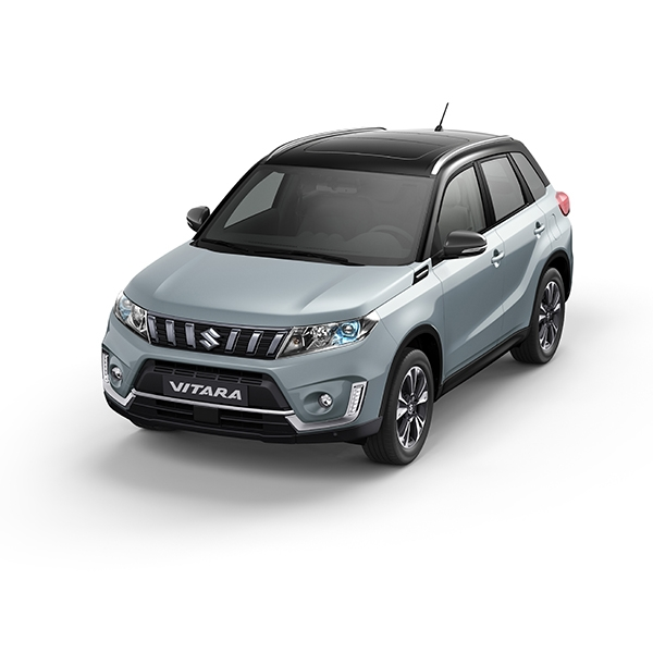 Suzuki Vitara Ice Grayish Blue Metallic + Cosmic Black Pearl Metallic (DBF)