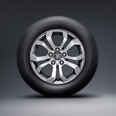Suzuki Vitara 17-inch polished alloy wheel (GLX)