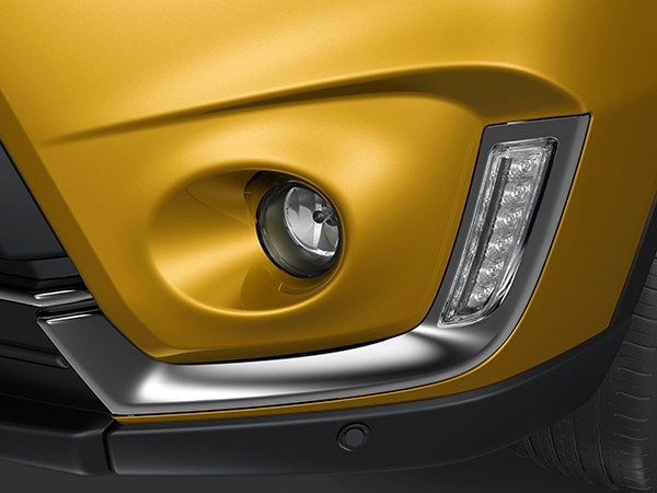 Suzuki LED daytime running lights and fog lamps