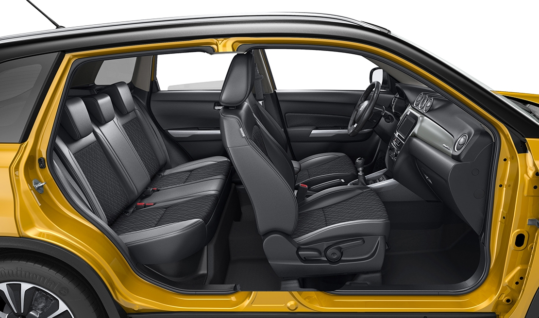 Suzuki Vitara Front and rear seats