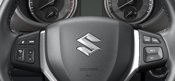 Suzuki Vitara Multifunctional steering wheel