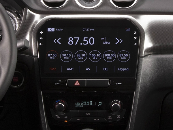 Suzuki Vitara 10-inch multimedia audio touchscreen (GLX)