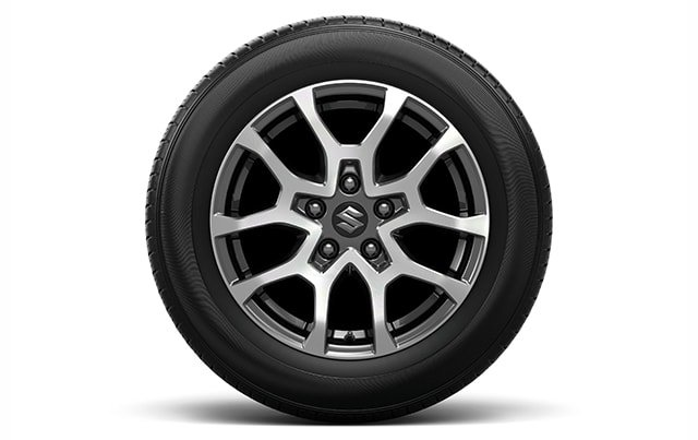 Suzuki All-New XL7 16 inch polished alloy wheels