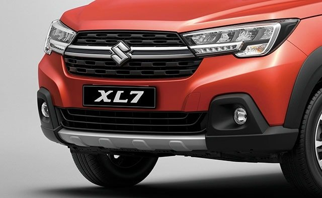 Suzuki All-New XL7 Bold Face and Front Grille