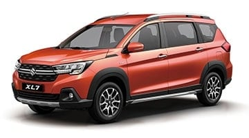 Suzuki All-New XL7 Rising Orange Pearl Metallic (ZZY)