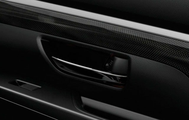 Suzuki All-New XL7 Carbon-fibre patterned material and satin chrome accents
