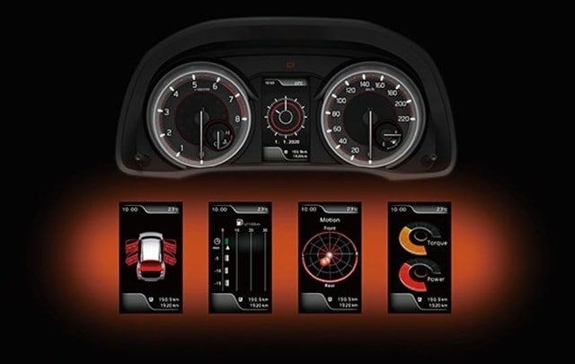 Suzuki All-New XL7 Meter Cluster with Advanced Multi-information Colour LCD