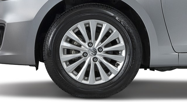 Suzuki Ciaz 15-inch alloy wheels