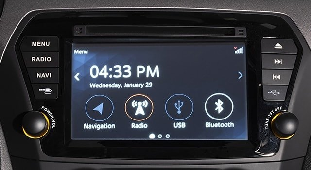 Suzuki Ciaz Touchscreen audio system