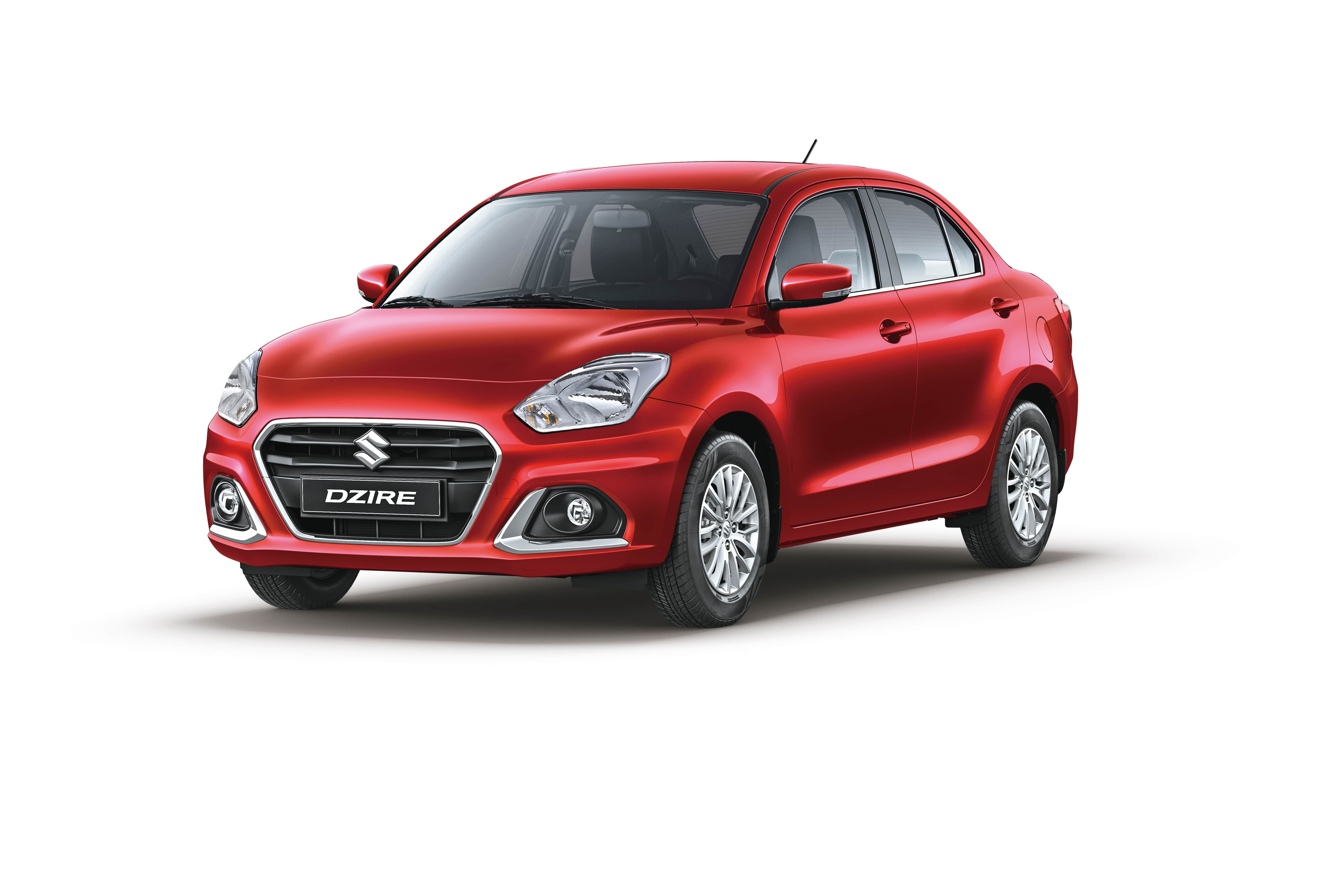 The New Dzire Phoenix Red Pearl