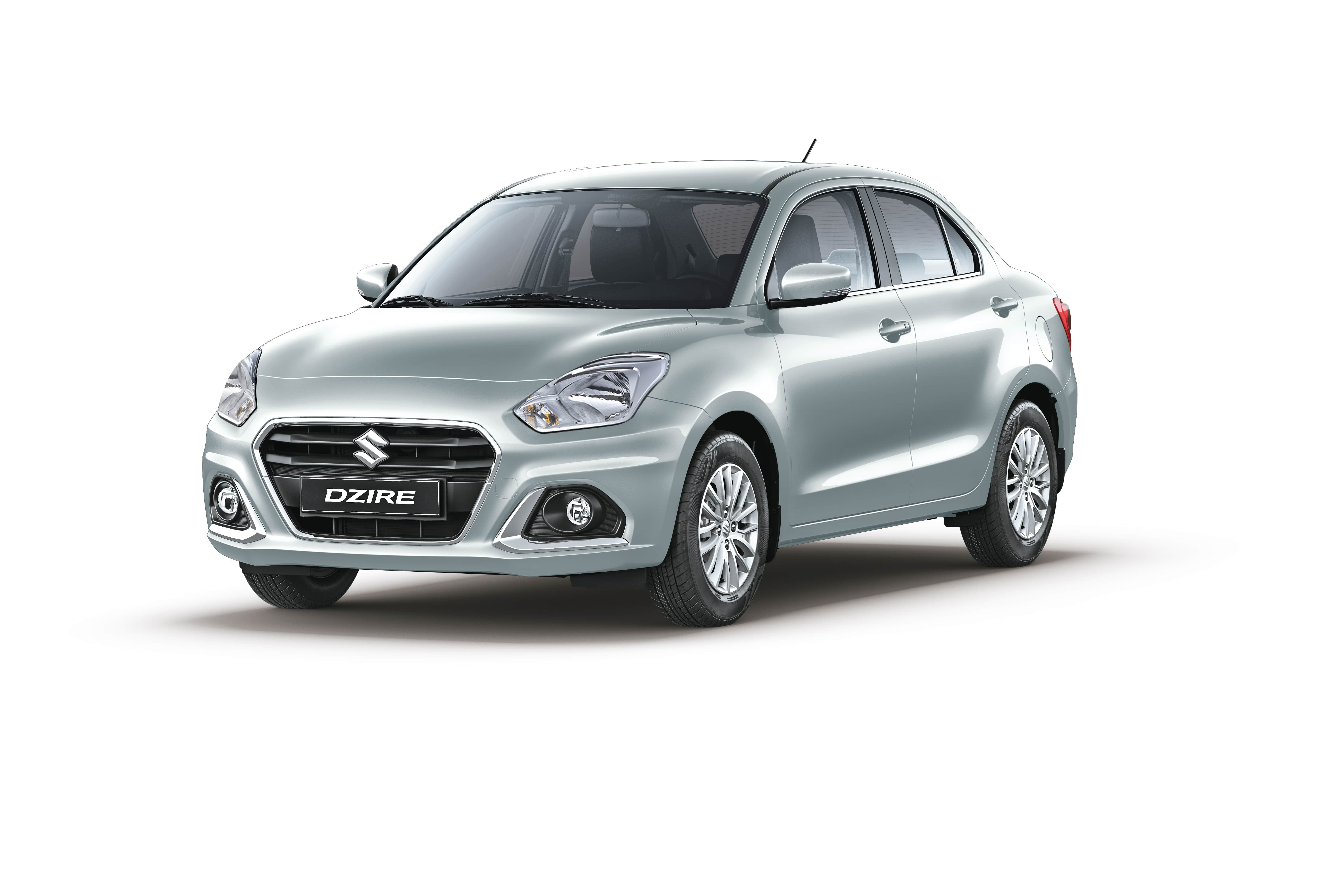 The New Dzire Premium Silver Metallic